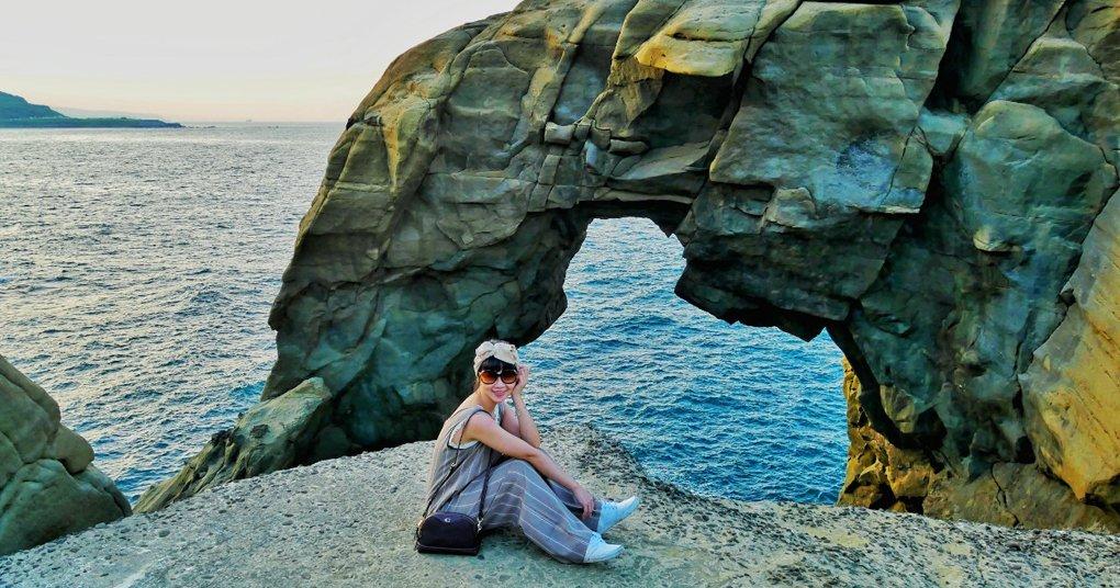 深澳岬角 ▎象鼻岩、酋長岩、漁港療癒系海岸線