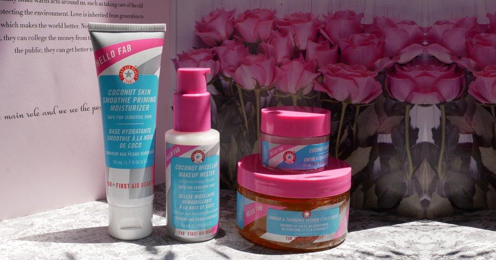 超實用旅行組 ▎四季保養必備:美肌無油椰香保濕組~打造好命臉