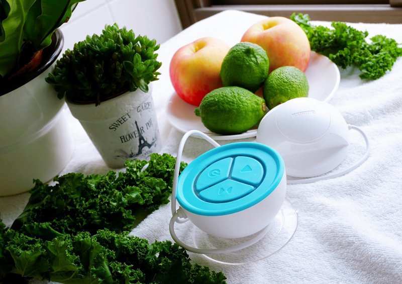 『蔬活球』Fluid Scanner檢測農藥殘留、蔬果安心吃、綠拿鐵安心喝