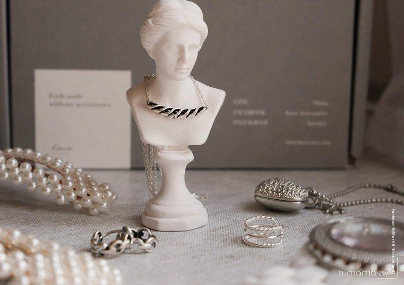 925純銀飾品推薦:KAVA簡單小個性、優雅穿搭